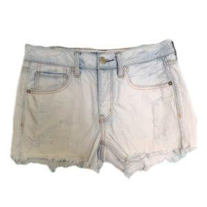 American Eagle Tom Girl distressed shorts Sz 4